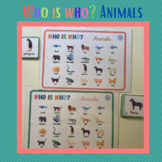 Who is who? Animals