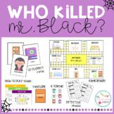 Who killed Mr. Black? - Halloween Board Game