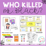 Who killed Mr. Black? - Halloween Board Game