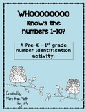 Who knows the numbers 1 - 10? A Number Identification Activity