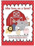 Who lives on a farm? Pocket Chart Activity