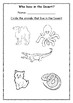 Who lives where ? - Worksheets