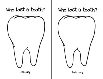 Who lost a tooth? - Calendar