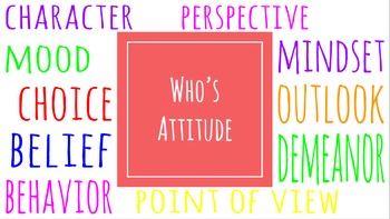 Who's Attitude