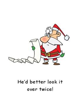 Who's Been Naughty? Big Book (au word family) Christmas