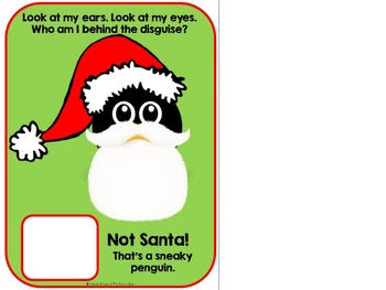 Who's Behind Santa's Beard?- Adapted Christmas Book {Autism, Early Childhood}