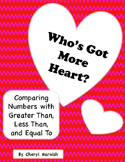 Who's Got More Heart?  Comparing With Greater Than, Less Than, and Equal To