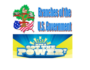 Who's Got the Power - 3 Branches of Government Game