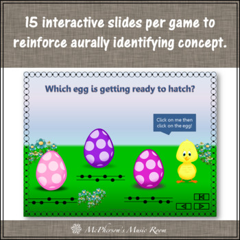 Who's Hatching? Interactive Melody Games {Bundle}