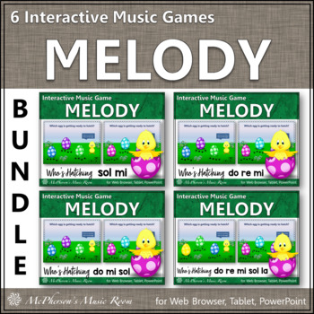Who's Hatching? Interactive Melody Bundle