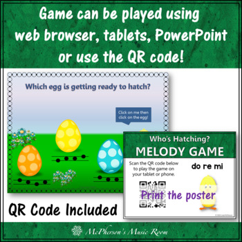 Spring Music Game: Do Re Mi Interactive Melody Game {Who's Hatching}