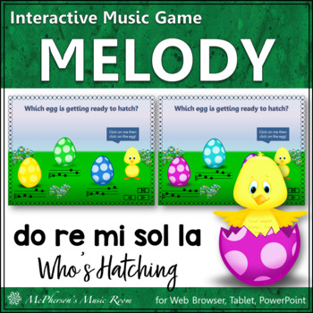 Do Re Mi Sol La Interactive Melody Game {Who's Hatching}