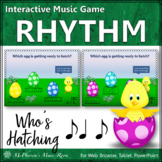 Spring Music Game: Syncopation Interactive Rhythm Game {Who's Hatching}