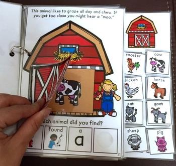 Who's Hiding in the Barn?  An interactive & adaptive book