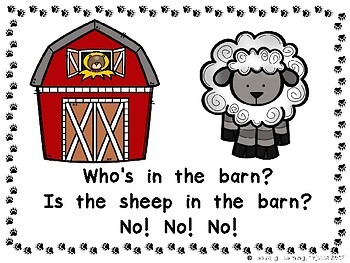 Who's In The Barn?  Mega Bundle {Ladybug Learning Projects}