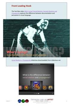 Who's Lying? Social Realism vs Propaganda - Art History mini-lesson