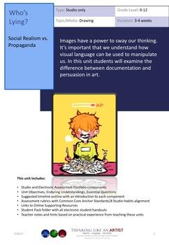 Who's Lying? Social Realism vs. Propaganda - Studio only unit