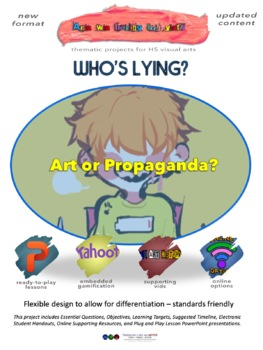 Who's Lying? Social Realism vs Propaganda - full unit