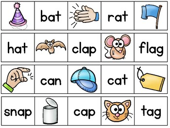 Who's My Partner? Short Vowel A
