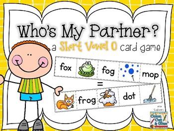 Who's My Partner? - Short Vowel O