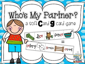 Who's My Partner? - a Soft C and G Card Game