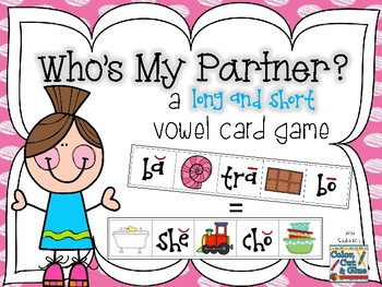 Who's My Partner? - a long/short vowel card game
