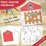 Who's On the Farm? - Farm Animals and Their Sounds Minibook