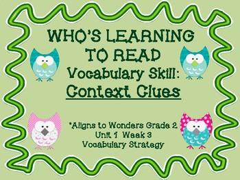 Who's Reading: Context Clues