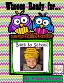 Who's Ready for Back to School !! Owl Hats Pre-K - Second Grade and More