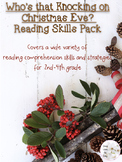 Who's That Knocking On Christmas Eve? Reading Skills Pack