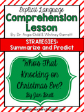 Who's That Knocking on Christmas Eve? - Summarize and Predict Comprehension