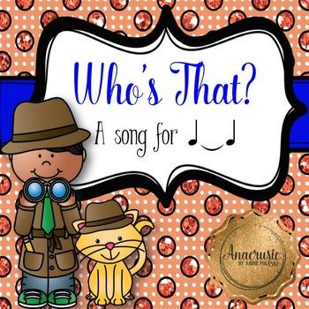 """Who's That? Prepare, Present, Practice """"TIE"""""""