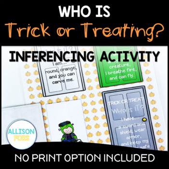 Who's Trick or Treating? Halloween Inference Activity