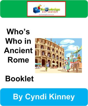 Who's Who in Ancient Rome Bookle