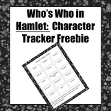 Who's Who in Hamlet: Character Tracker