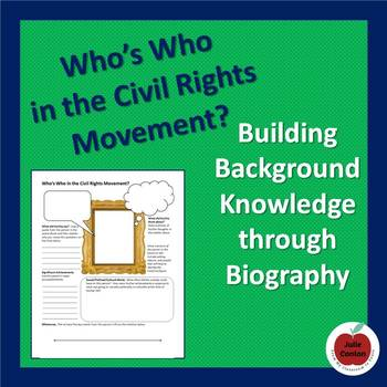 Who's Who in the Civil Rights Movement?