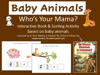 Who's Your Mama?- Adaptive book