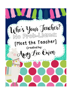 Who's Your Teacher? (A Llama-mazing Year): {LLAMAS)