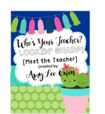 Who's Your Teacher? (Looking Sharp!): {CACTUS]