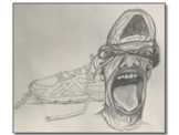 Who's in your Shoes? Give a face lift to contour drawings!
