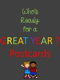 Who's ready for a great year postcard.
