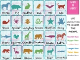 Guess who? Comparatives and/or animals.