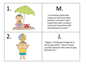 Reading Comprehension Task Cards and Activities