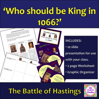 Who should be King in 1066? The lead up to the Battle of Hastings.