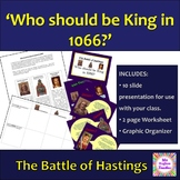 Who should be King in 1066? The lead up to the Battle of H