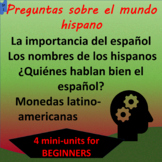 Who speaks Spanish? Where is it spoken? Sound the same?- S