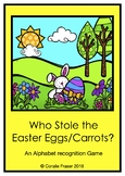 Who stole the Easter Eggs/Carrots? Alphabet Recognition Game