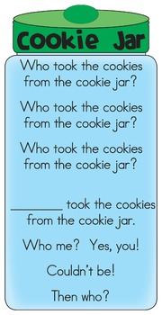 Who took the Cookie Activity Packet - Game