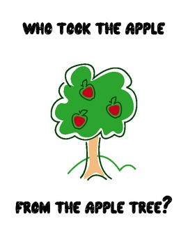 Who took the apple from the apple tree?