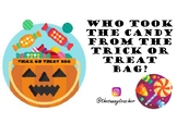 Who took the candy from the trick or treat bag?